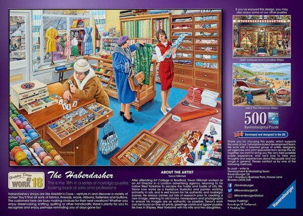 Happy Days At Work, The Haberdasher 500pc