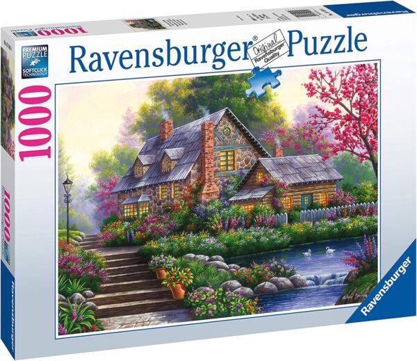 Ravensburger Romantic Cottage 1000pc