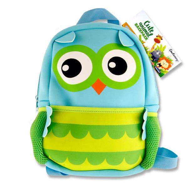 Emotionery Neoprene Animal Backpack Owl