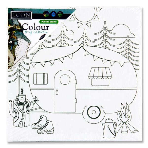 Colour My Canvas Caravan