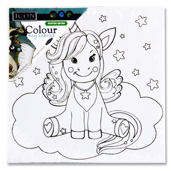 Colour My Canvas Unicorn