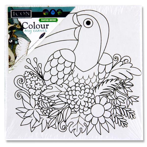Colour My Canvas Toucan