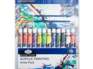 22 Pieces Painting By Numbers Box Set Purple
