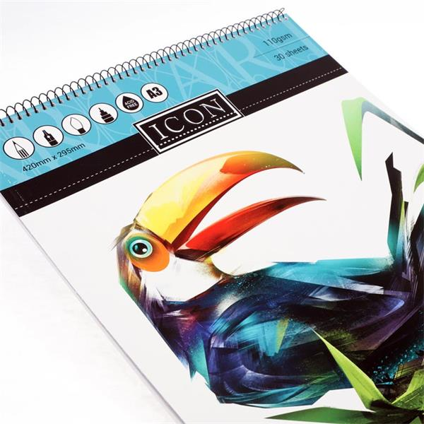 Icon Sketch Pad 30 Sheets A3