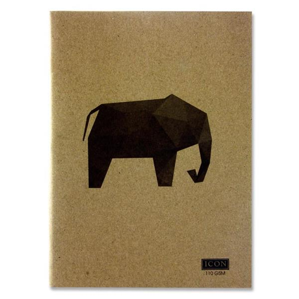 Icon Sketch Book Animalia 80pg A4