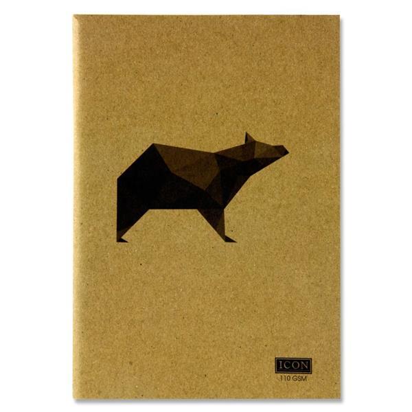 Icon Sketch Book Animalia 80pg A5