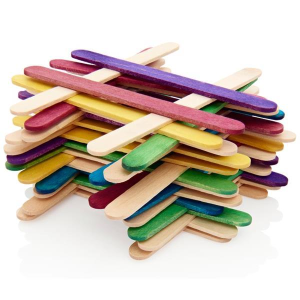 Crafty Bitz Wooden Lollipop Sticks