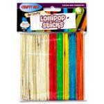 Crafty Bitz Lollipop Sticks