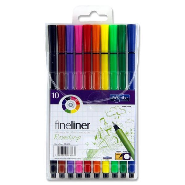 10 Fineliner Markers