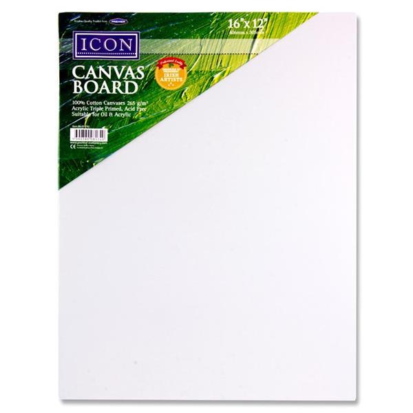 Icon Canvas Board 16″x12″