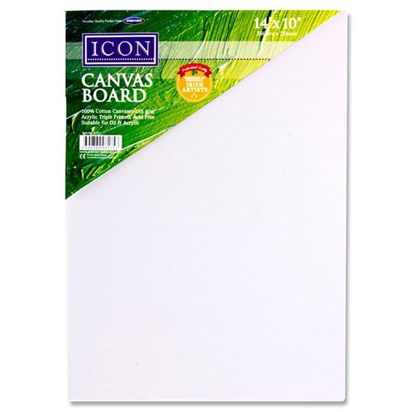 Icon Canvas Board 14″x10″