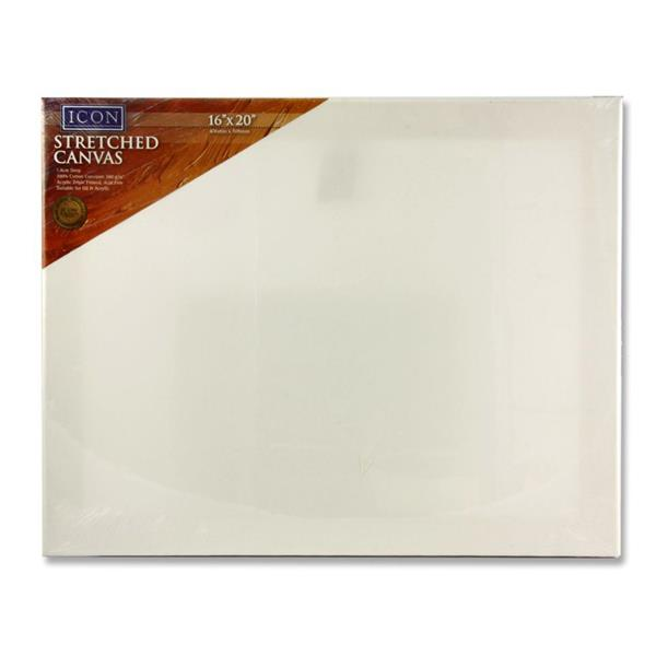 Stretched Canvas 16″x20″