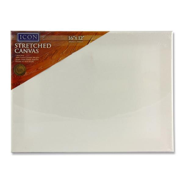 Icon Stretched Canvas 16″x12″