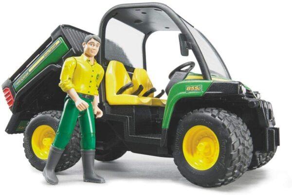 Bruder John Deere Gator 855D with Driver