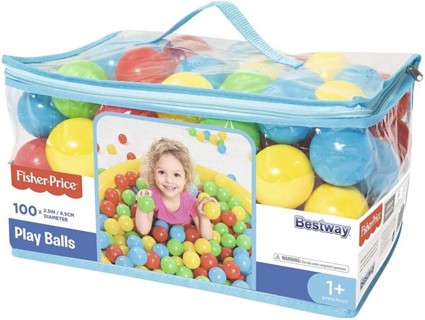 Fisher Price100 Play Balls In Carrybag