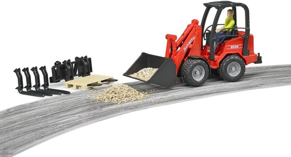Bruder Compact Loader 2034 With Figure
