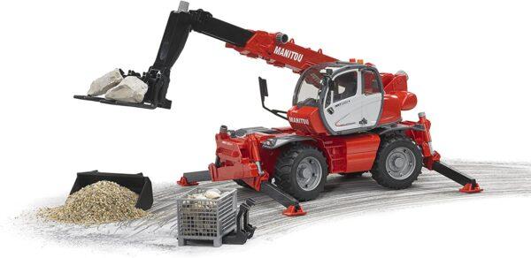 Bruder Mantou Telescopic Forklift