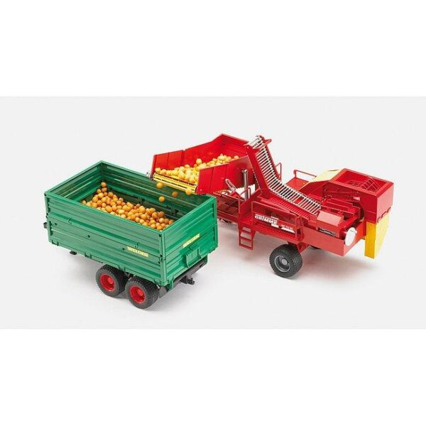Bruder Twin Axle Tipping Trailer