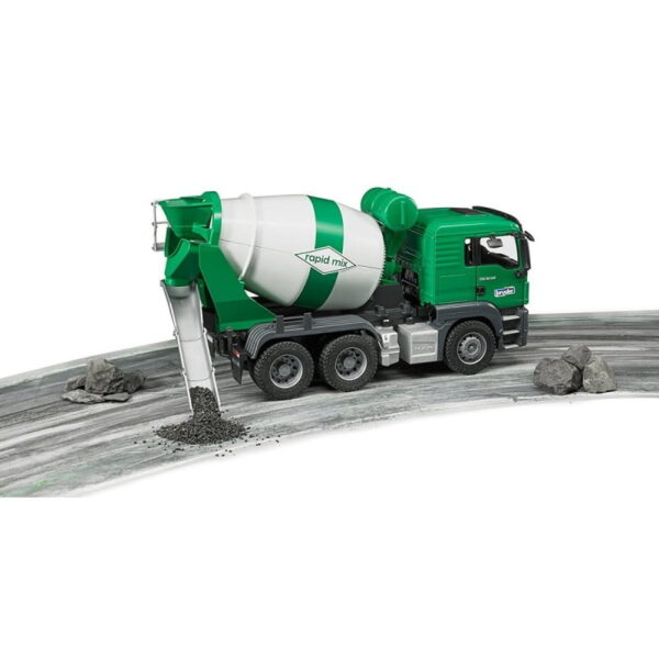 Bruder Man Cement Mixer Truck