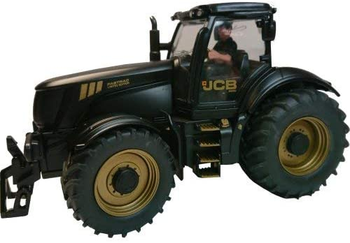 Siku Gold And Black JCB 82501 Tractor With Drive