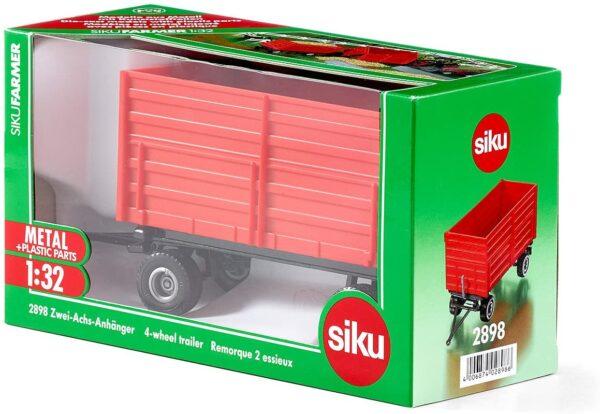 Siku Two Axled Trailer 4 Wheels