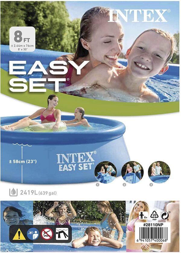 8×30 Easy Set Up Pool