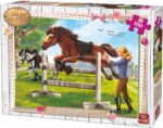 King Girls and Horses Puzzle
