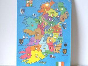 Jigsaw puzzle Ireland Map Puzzle