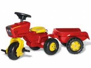 Rolly Trac & Trailer With Sound Steering Wheel