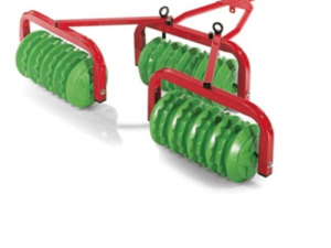 Rolly Disc Harrow Red