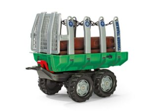 Rolly Twin Axle Trailer With Logs