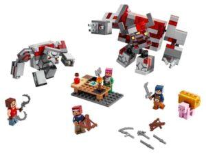 Lego Minecraft The Redstone Battle