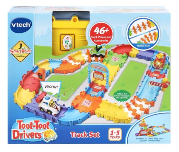 Vtech Toot Toot Driver Track Set Bendable