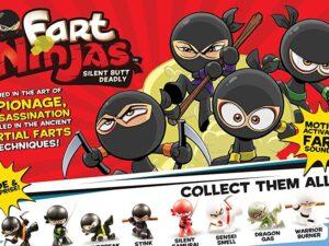 Fart Ninja Assorted