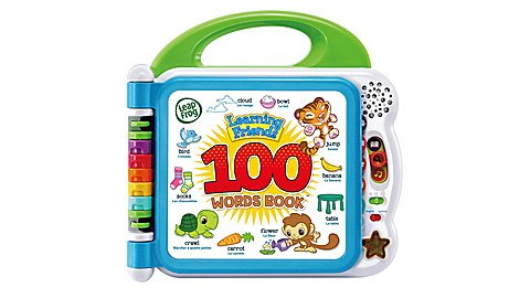 Leapfrog Busy Learning Friends 100 Words Book