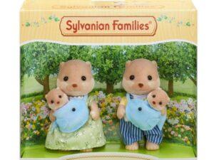 Sylvanian Families Splashy Otter Family