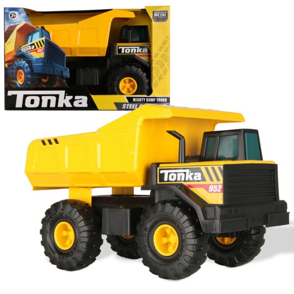 Tonka Steel Classic Mighty Dumptruck