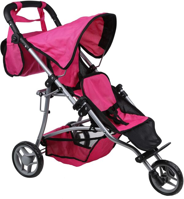 Mommy & Me Twin jogger Pink & Black