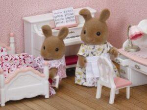 Sylvanian Families Girls Bedroom Set