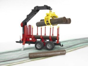Bruder Forestry Trailer with Crane