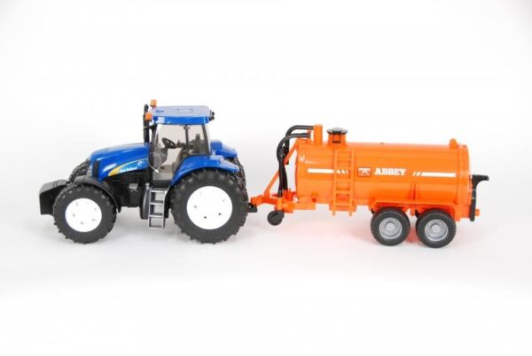 Bruder New Holland T8040 With Abbey Tanker