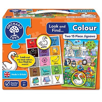 Look & Find Colours