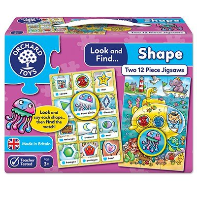 Look & Find Shapes