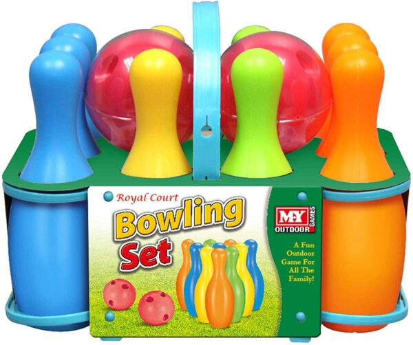 10pc Bowling Set In Carry Case