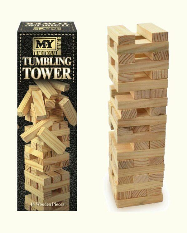 M.Y Large Tumbling Tower Game