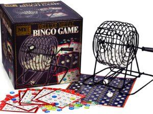 M.Y Deluxe Metal Bingo Game