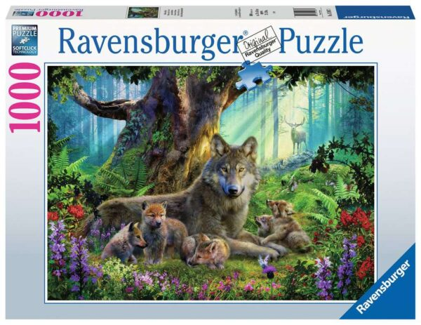 Ravensburger Wolves In The Forest 1000pc