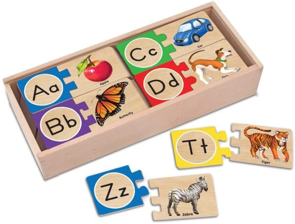 Melissa and Doug Self Correcting Letter Puzzles
