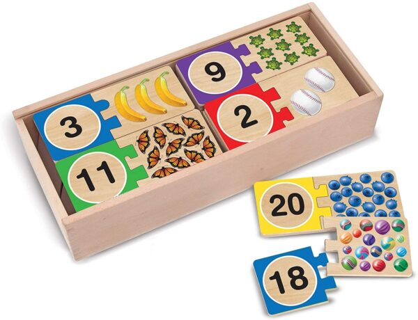 Melissa and Doug Self Correcting Numbers Puzzles