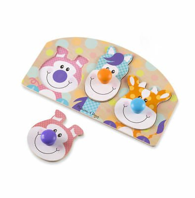 Melissa and Doug First Play Farm Animal Puzzle